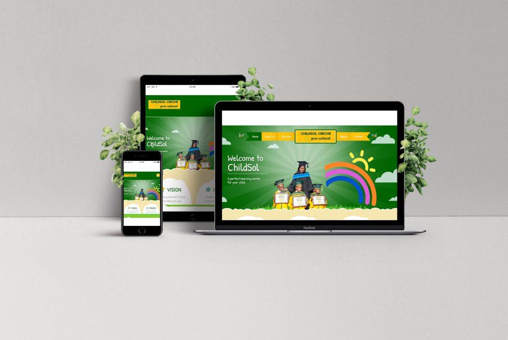 Web design in Pretoria