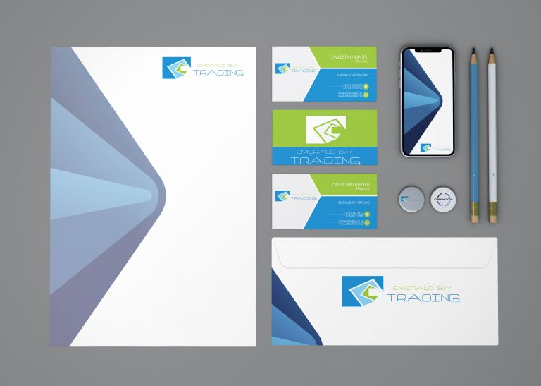 Vibrant IT Corporate Identity design Pretoria